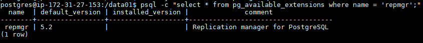 managing-high-availability-database-cluster-with-repmgr-postgresql13-repmgr5.2-verify-repmgr-extension