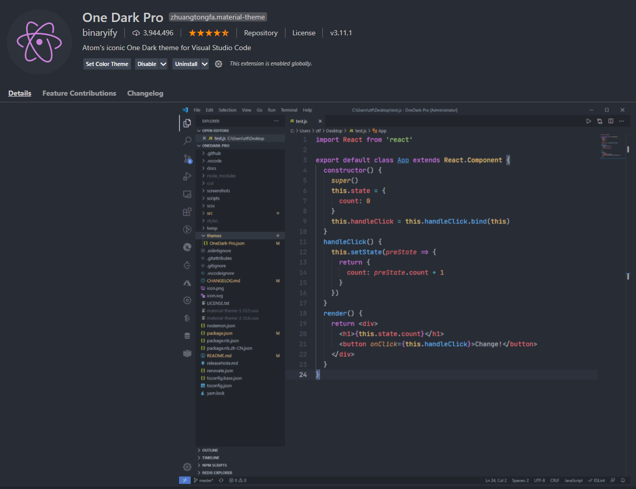vs-code-extensions-you-absolutely-need-in-2021-one-dark-pro